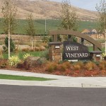 West Vineyard Entry Sign